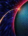 Sphere and Binary Code