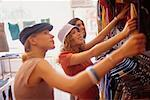 Teenage Girls Shopping    Stock Photo - Premium Rights-Managed, Artist: Ron Fehling, Code: 700-00183165