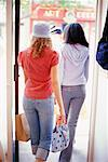 Teenage Girls Shopping    Stock Photo - Premium Rights-Managed, Artist: Ron Fehling, Code: 700-00183171