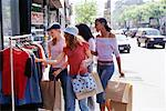 Teenage Girls Shopping    Stock Photo - Premium Rights-Managed, Artist: Ron Fehling, Code: 700-00183181