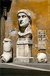 Roman Emperor Constantine The Great, Musei Capitolini, Rome, Italy    Stock Photo - Premium Rights-Managed, Artist: Andrew McKim, Code: 700-00183577