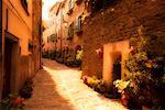 Narrow Alley, Portico di Romagna Italy