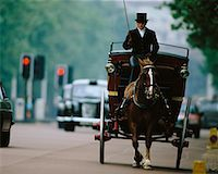 Horse-Drawn Carriage on Street The Mall, London, England    Stock Photo - Premium Rights-Managednull, Code: 700-00184357