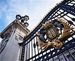 Gates of Buckingham Palace London, England    Stock Photo - Premium Rights-Managed, Artist: Matt Brasier, Code: 700-00184787
