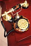 Old Fashioned Chinese Telephone    Stock Photo - Premium Rights-Managed, Artist: dk & dennie cody, Code: 700-00185018