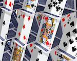 House of Cards    Stock Photo - Premium Rights-Managed, Artist: Guy Grenier, Code: 700-00185839
