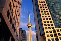 peter griffith - CN Tower and Buildings Toronto, Ontario, Canada    Stock Photo - Premium Rights-Managednull, Code: 700-00188662
