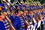 Military Procession Independencia Square Quito, Ecuador