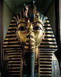 Funeral Mask of King Tutankhamen Cairo, Egypt    Stock Photo - Premium Rights-Managed, Artist: Larry Fisher, Code: 700-00189177