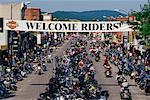 Harley Davidson Rally Sturgis, South Dakota, USA    Stock Photo - Premium Rights-Managed, Artist: Jeremy Woodhouse, Code: 700-00189341