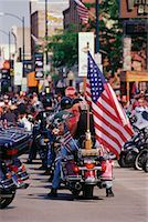 Harley Davidson Rally Sturgis, South Dakota, USA    Stock Photo - Premium Rights-Managednull, Code: 700-00189344