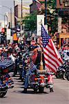 Harley Davidson Rally Sturgis, South Dakota, USA    Stock Photo - Premium Rights-Managed, Artist: Jeremy Woodhouse, Code: 700-00189344