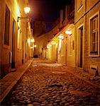 Back Street in the Old Town Tallinn, Estonia    Stock Photo - Premium Rights-Managed, Artist: Michael Clement, Code: 700-00193495