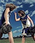 Cheerleaders    Stock Photo - Premium Rights-Managed, Artist: David Stuart, Code: 700-00193994