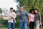 Group of Friends Playing Horseshoes    Stock Photo - Premium Rights-Managed, Artist: George Shelley, Code: 700-00193998