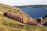 Tattoo Regiment at Signal Hill, St John's Newfoundland, Canada    Stock Photo - Premium Rights-Managed, Artist: John de Visser, Code: 700-00194500