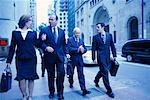 Business People Walking    Stock Photo - Premium Rights-Managed, Artist: Ron Fehling, Code: 700-00195321