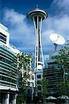 Space Needle Seattle, Washington, USA    Stock Photo - Premium Rights-Managed, Artist: Larry Fisher, Code: 700-00195445