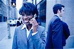 Businesswoman on Cell Phone    Stock Photo - Premium Rights-Managed, Artist: Ron Fehling, Code: 700-00195693