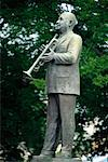 Statue of W.C. Handy Memphis, Tennessee, USA    Stock Photo - Premium Rights-Managed, Artist: Gail Mooney, Code: 700-00195994
