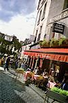 People at Outdoor Cafe Montmartre, Paris, France    Stock Photo - Premium Rights-Managed, Artist: Damir Frkovic, Code: 700-00196192