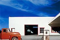 rural gas station - Gas Station    Stock Photo - Premium Rights-Managednull, Code: 700-00196824
