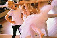 Children Learning Ballet    Stock Photo - Premium Rights-Managednull, Code: 700-00196935