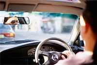 Man Driving Car    Stock Photo - Premium Rights-Managednull, Code: 700-00197164