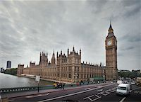 Big Ben and Thames River London, England    Stock Photo - Premium Rights-Managednull, Code: 700-00197721