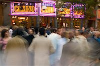 Crowd in Front of Casino London, England    Stock Photo - Premium Rights-Managednull, Code: 700-00197862