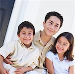 Family Portrait    Stock Photo - Premium Rights-Managed, Artist: Kevin Dodge, Code: 700-00198367