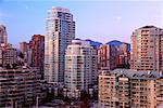 Downtown Condominiums Vancouver, British Columbia Canada    Stock Photo - Premium Rights-Managed, Artist: J. A. Kraulis, Code: 700-00198989