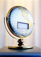 Blank LCD Screen on Globe    Stock Photo - Premium Rights-Managednull, Code: 700-00199193