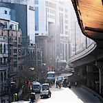 Street Scene Shanghai, China    Stock Photo - Premium Rights-Managed, Artist: Dan Lim, Code: 700-00199307