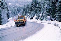 snow plow truck - Snowplow Stock Photo - Premium Royalty-Freenull, Code: 604-00224311