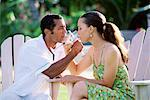 Couple drinking champagne Stock Photo - Premium Royalty-Free, Artist: Robert Harding Images, Code: 604-00232070