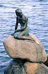 Denmark, Copenhagen, the Little Mermaid Stock Photo - Premium Royalty-Free, Artist: Robert Harding Images, Code: 610-00258094