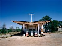rural gas station - Abandoned Gas Station on Route 66 New Mexico, USA    Stock Photo - Premium Rights-Managednull, Code: 700-00268196