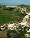 Overview of Town and Countryside Gozo, Malta    Stock Photo - Premium Rights-Managed, Artist: Peter Christopher, Code: 700-00269547