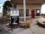 Abandoned Gas Station Route 66, New Mexico, USA