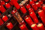 Candles in Church    Stock Photo - Premium Rights-Managed, Artist: Peter Barrett, Code: 700-00281536
