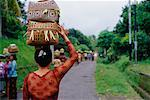 Woman Carrying Parcels on Head Bali Indonesia    Stock Photo - Premium Rights-Managed, Artist: Carl Valiquet, Code: 700-00285402