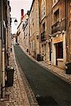 Narrow Street Blois, Loire Valley France