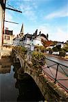 Bridge over River Vendome France    Stock Photo - Premium Rights-Managed, Artist: George Simhoni, Code: 700-00285792