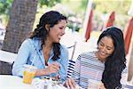 Women on Restaurant Patio    Stock Photo - Premium Rights-Managed, Artist: Kevin Dodge, Code: 700-00286199