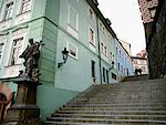 Staircase, Czech Republic    Stock Photo - Premium Rights-Managed, Artist: David Zimmerman, Code: 700-00286304