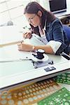 Woman Working in Design Studio    Stock Photo - Premium Rights-Managed, Artist: Strauss/Curtis, Code: 700-00286546