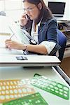 Woman Working in Design Studio    Stock Photo - Premium Rights-Managed, Artist: Strauss/Curtis, Code: 700-00286547