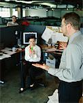 Boss Scolding Employees    Stock Photo - Premium Rights-Managed, Artist: Noel Hendrickson, Code: 700-00286700