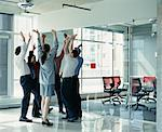 Business People in Huddle    Stock Photo - Premium Rights-Managed, Artist: Noel Hendrickson, Code: 700-00286718